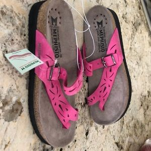 Mephisto pink Sandals new with tag